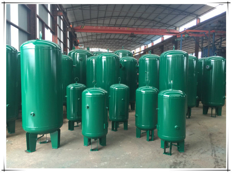 Stable Pressure Air Compressor Receiver Tank , Air Compressor Vertical Storage Tank