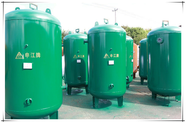 High Finished Air Receiver Tanks For Compressors , Air Compressor Holding Tank